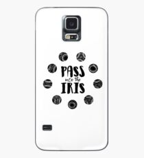 Pass in die Iris. Hülle & Klebefolie für Samsung Galaxy