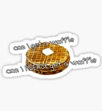 Can I Get a Waffle Sticker