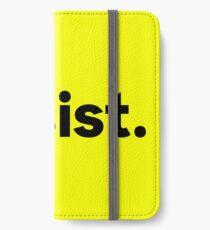Resist. iPhone Wallet/Case/Skin