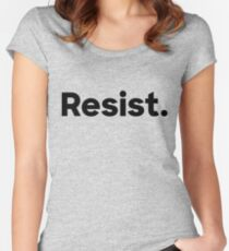 Resist. Women's Fitted Scoop T-Shirt