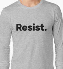 Resist. Long Sleeve T-Shirt