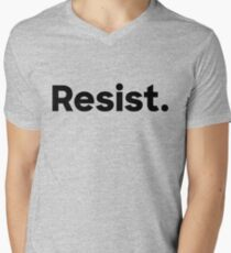 Resist. Men's V-Neck T-Shirt