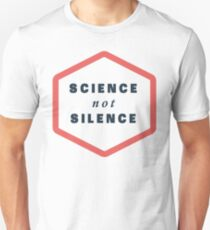 Science not Silence Unisex T-Shirt