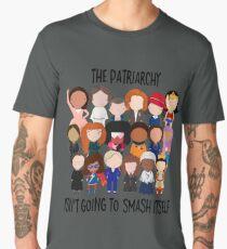 Patriarchy, SMASH Men's Premium T-Shirt
