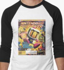 Bomberman Men's Baseball ¾ T-Shirt