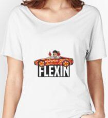 FLEXIN Women's Relaxed Fit T-Shirt