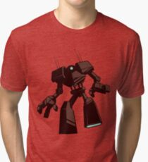 Giant Robot Isolated Tri-blend T-Shirt