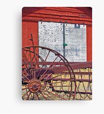 Barn & Machinery 3 Canvas Print