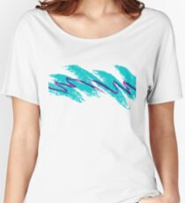 Vaporwave pattern Women's Relaxed Fit T-Shirt