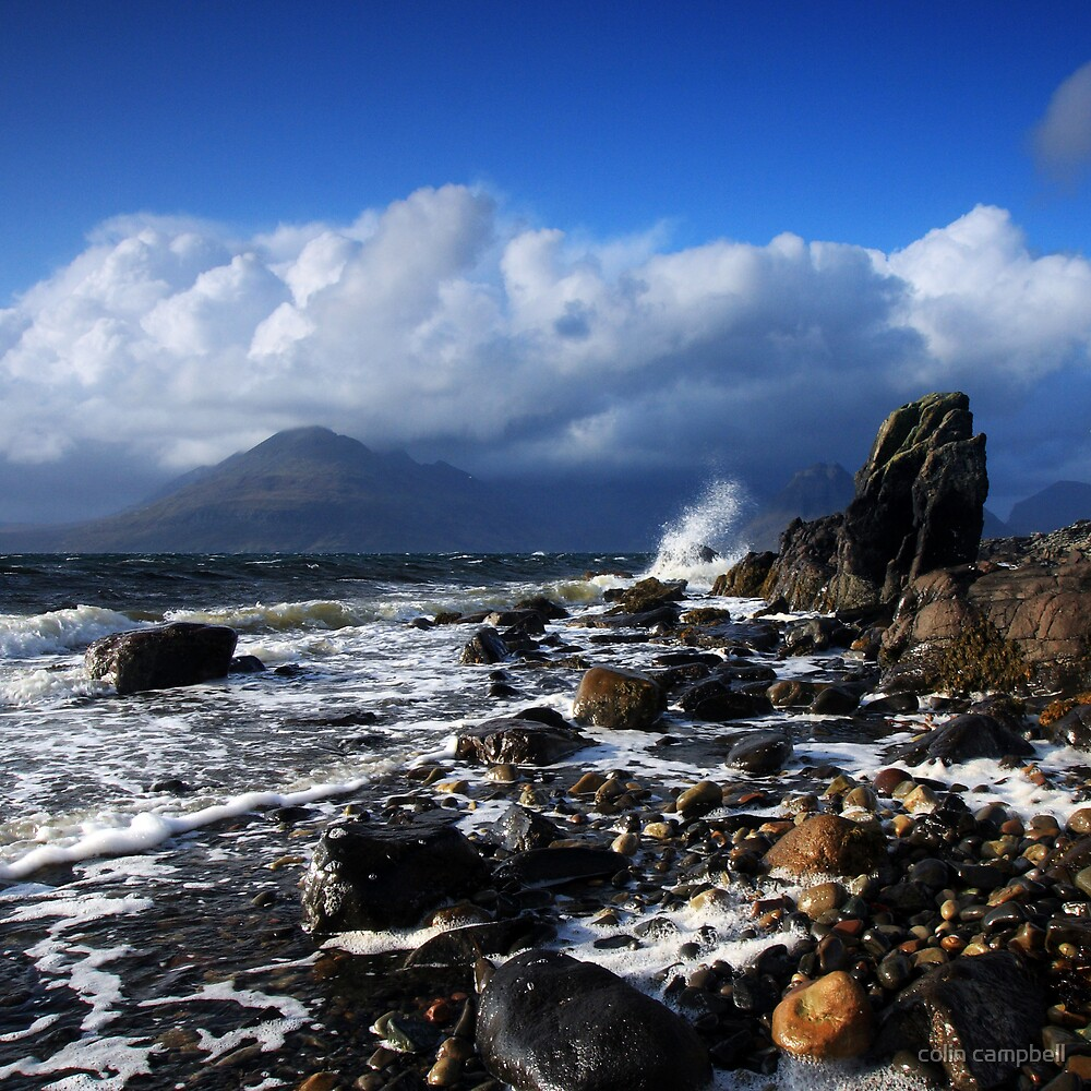 Elgol Storm II by colin campbell