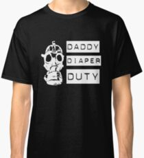 Mens Funny New Dad Expecting Fathers T shirt Classic T-Shirt