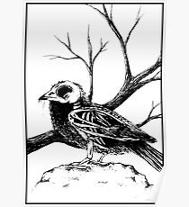 Undead bird Poster