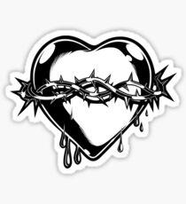 Barbed Heart Sticker