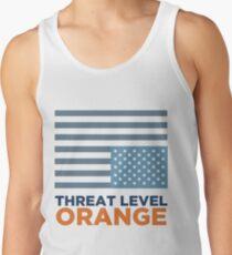Threat Level Orange Men's Tank Top