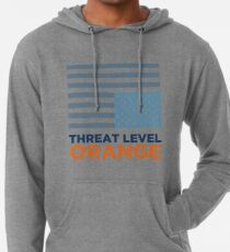 Threat Level Orange Lightweight Hoodie