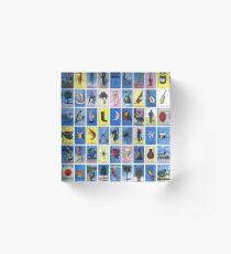 Loteria  Acrylic Block