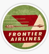 Frontier Airlines USA Sticker