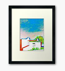 Spain by Frank Donahue Framed Print