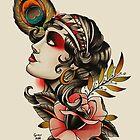 Gipsy Girl 02 by GuruTattoo