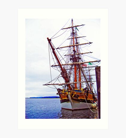 Lady Washington Art Print