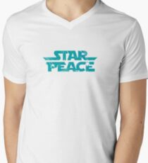 Star Peace Men's V-Neck T-Shirt