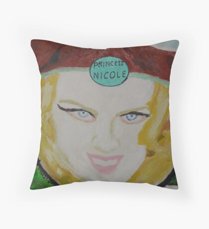 Princess Nicole Kidman Throw Pillow