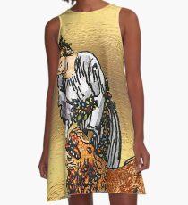 Vestido acampanado Tarot Gold Edition - Major Arcana - Fuerza