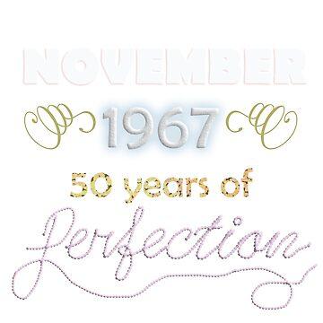 50th Birthday- November by lovelypresents