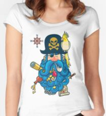 Pirate Portrait Women's Fitted Scoop T-Shirt