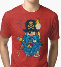 Pirate Portrait Tri-blend T-Shirt