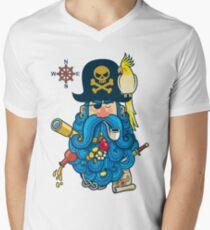 Pirate Portrait Men's V-Neck T-Shirt