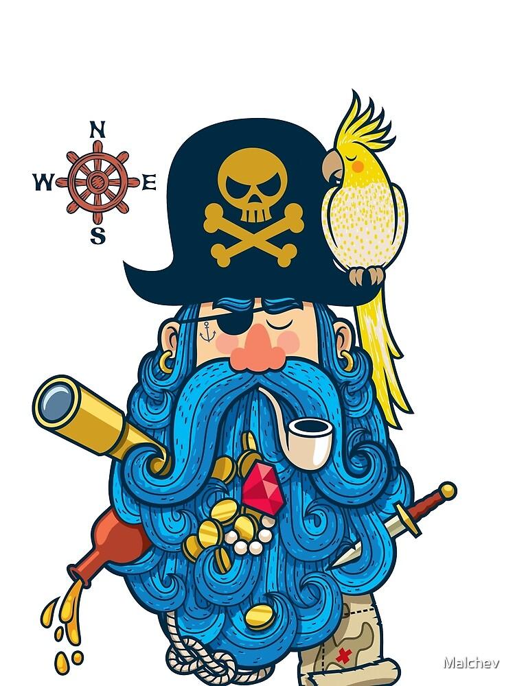Retrato pirata de Malchev