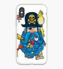 Pirate Portrait iPhone Case