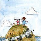 A tiny picnic by MankaKasha