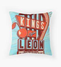 Kings of Leon Columbus Art Print Throw Pillow