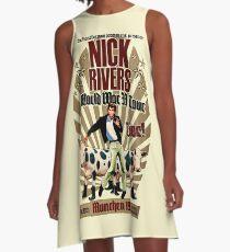Nick Rivers - Live! A-Line Dress