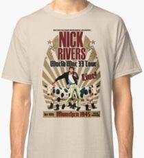 Camiseta clásica Nick Rivers - Live!