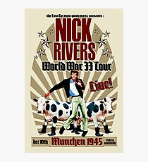 Nick Rivers - Live! Photographic Print