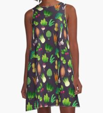 Farmers Market A-Line Dress