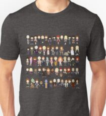 Colorful Doctor ? and their friendly companions Unisex T-Shirt