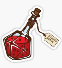 Health potion. Sticker