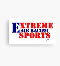 Extreme Sports Air Racing  Canvas Print