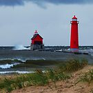 Grand Haven Lighthouse by stormypleasures