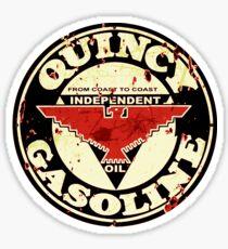 Quincy Gasoline Sticker