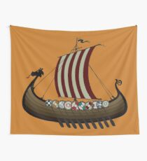 Vikings Wall Tapestry