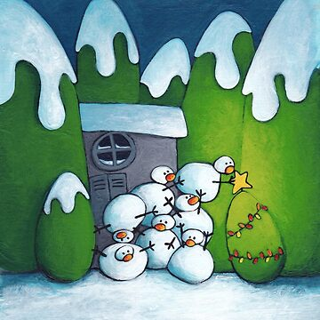 Snowman by laureH