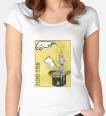 Magic Castle Gibson Girl Women's Fitted Scoop T-Shirt