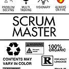 Scrum Master - Always on Fire von mrf2thed