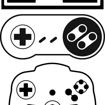Nintendo controllers by ChevDesign