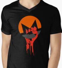MONERO Revolution Men's V-Neck T-Shirt